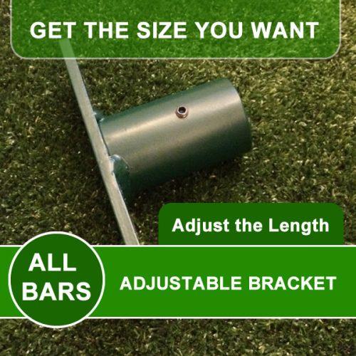 outdoor pull up bar bracket