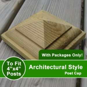 Architectural Style Post Cap