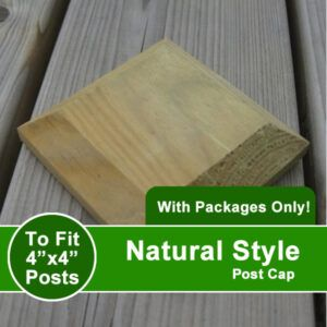 natural style post cap