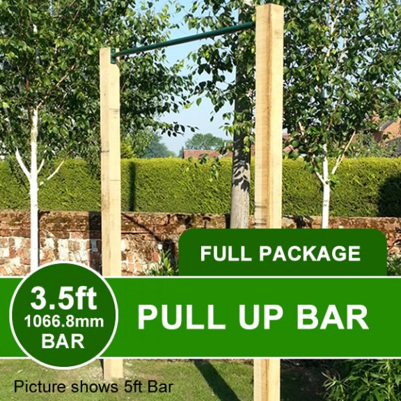 3.5ft pullup bar package