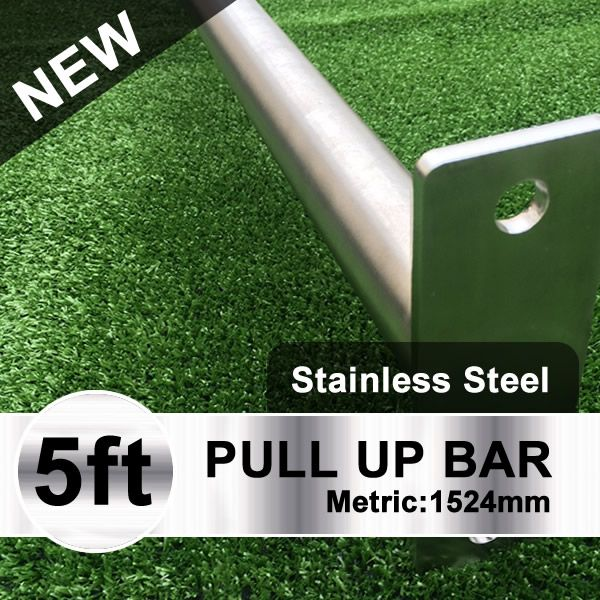 outdoor pull up bar stainless steel
