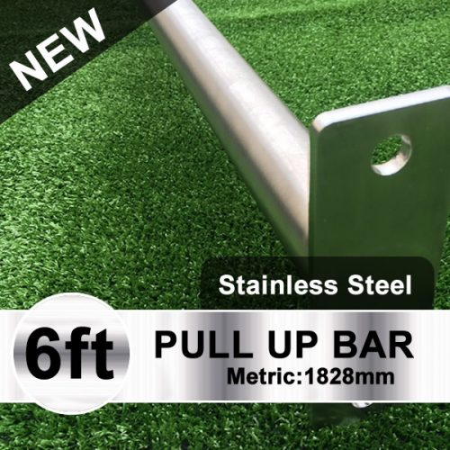 Stainless Steel Pull Up Bar Outdoors