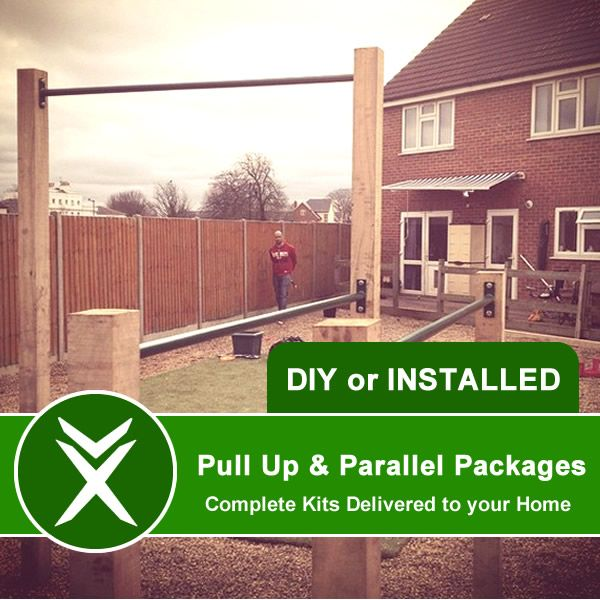 Combined Pull Up & Parallel Bar Packages