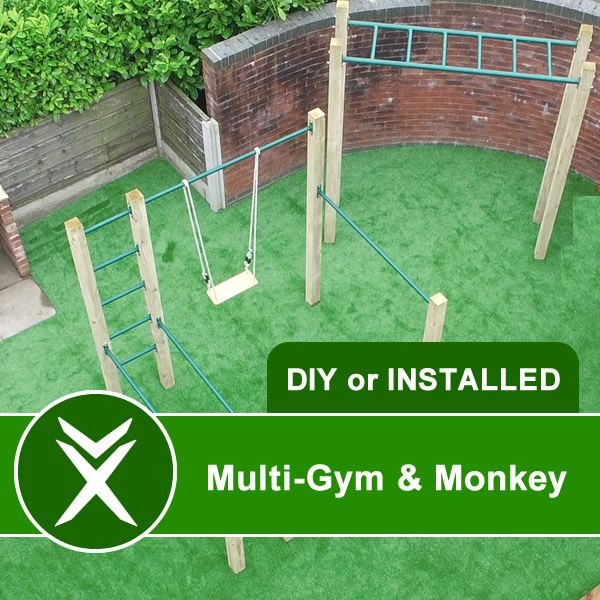 Multi gym pull up bars monkey bar xorbars for Home and garden equipment