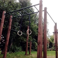 ninja warrior outdoor gym