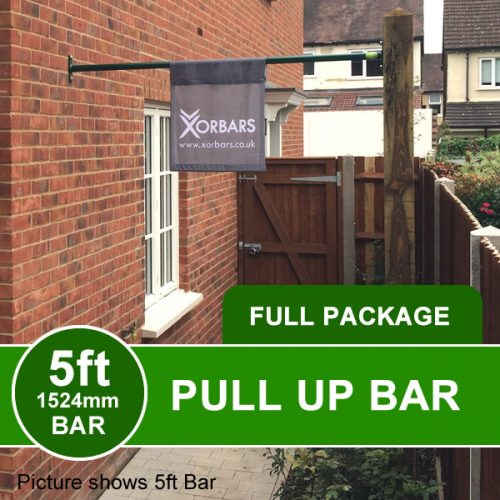 Wall to Post Outdoor Pull Up Bar