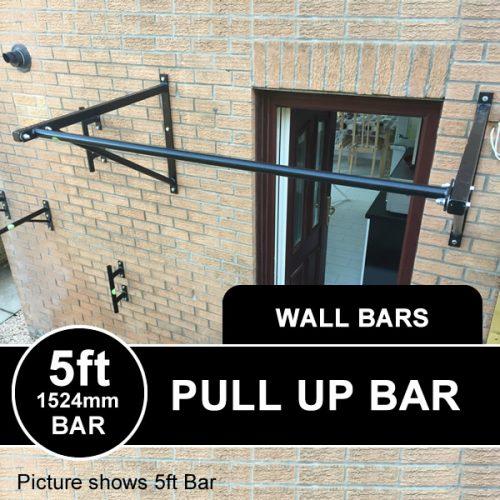 Heavy Duty Wall Mounted Pull Up Bar