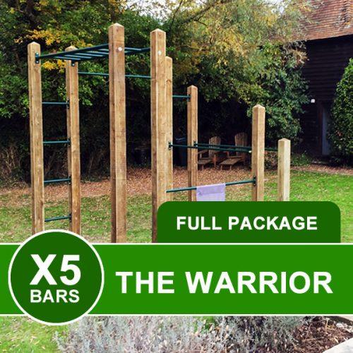 Warrior Outdoor Garden Gym