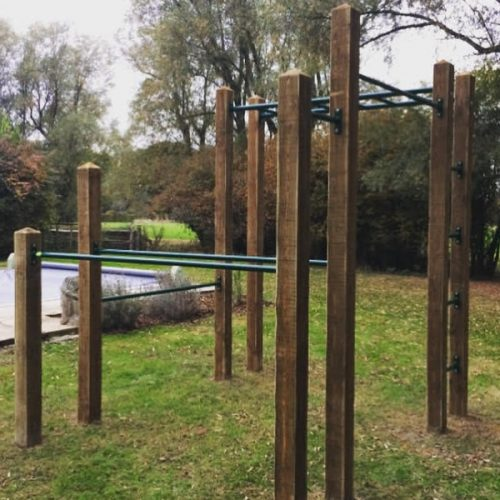 Warrior Outdoor Garden Gym