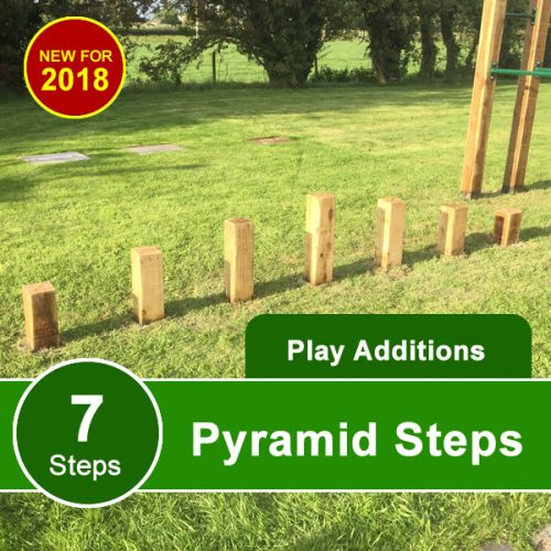 Childrens Garden Balance Steps