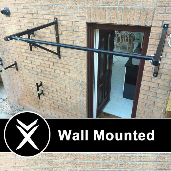 Wall Mounted Pull Up Bars