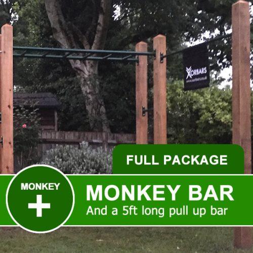 monkey bar and pull up bar