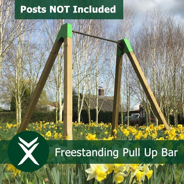 Freestanding Garden Pull Up Bar 1 4m Wide